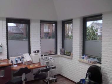 plotpunt raam decoratie